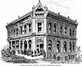 Architect's drawing of the Bank of British Columbia building, Victoria, British Columbia, between 1880 and 1890 (AL+CA 697).jpg