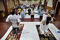 Ardha Ustrasana - International Day of Yoga Celebration - NCSM - Kolkata 2015-06-21 7353.JPG