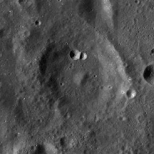 Argelander (crater) - Image: Argelander crater LRO WAC