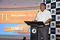 Arijit Dutta Choudhury Addresses - Edible Cutlery Demonstration Programme - CRTL Silver Jubilee Celebration - NCSM - Kolkata 2018-05-11 0423.JPG