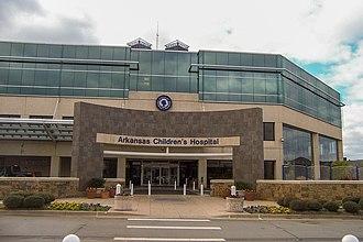 Arkansas Children's Hospital - Image: Arkansas Childrens Hospital Front