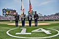 Army Reserve soldiers present the colors at Wrigley Field 150703-A-KL464-051.jpg