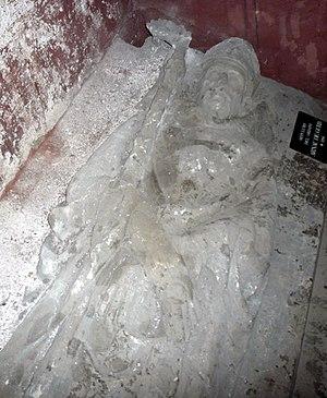 Arnau de Gurb - Image of Bishop Arnau de Gurb on his tomb. Santa Llúcia Chapel, Cathedral of Barcelona