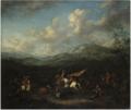 Arnold Frans Rubens - Cavalry Battle.tiff