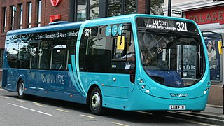 Arriva Shires & Essex subsidiary bus operator of Arriva UK Bus