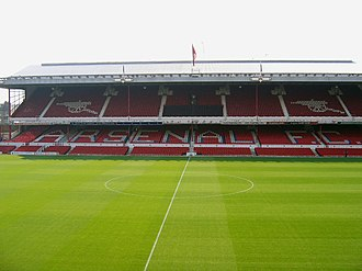 1994 European Super Cup - The first leg was staged at Highbury, Arsenal's home ground