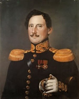 Arvid Adolf Etholén - Arvid Adolf Etholén by J. E. Lindh, 1839