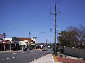 Ashgrove, Queensland - Ashgrove, with Mount Coot-tha in the distance