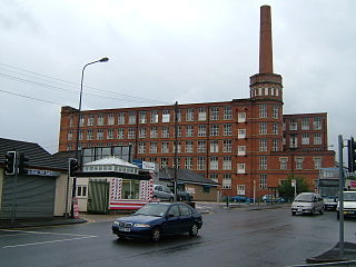 Cavendish Mill, Ashton-under-Lyne