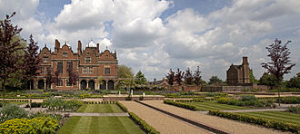 Aston Hall - Aston Hall gardens