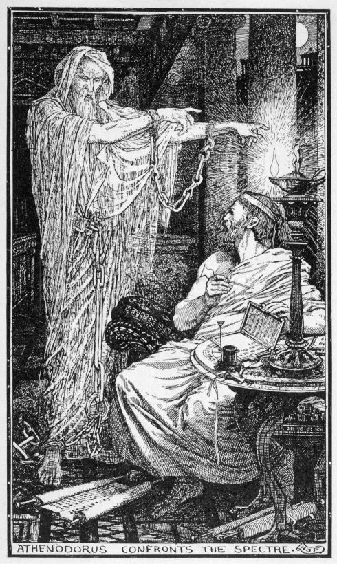 Athenodorus - The Greek Stoic Philosopher Athenodorus Rents a Haunted House