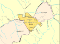 Athens WV 2009 reference map.png