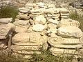 Athina Akropolis column debris 2005-04.jpg