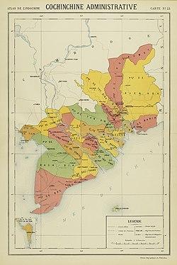 Cochinchina i 1920