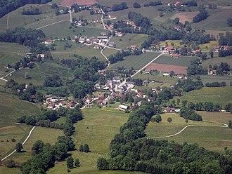 Attignat-Oncin - An aerial view of Attignat-Oncin