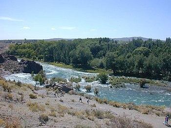 Atuel River Mendoza Argentina by PabloBD