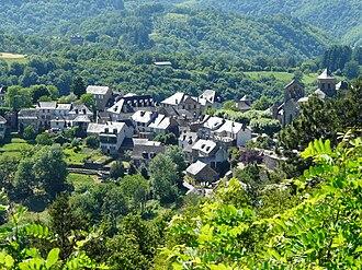 Aubazine - A general view of Aubazine
