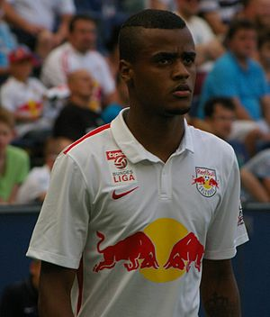 Felipe Pires - Pires with FC Red Bull Salzburg in July 2015