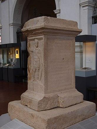 Juthungi - Memorial stone from Augsburg