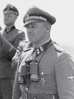 August Dieckmann SS officer