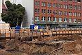 Ausgrabung auf der Baustelle Schloßstraße (27) (26212444723).jpg