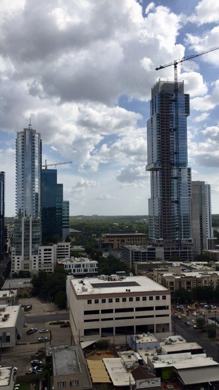 Austin, Texas Skyline Construction