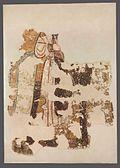 Autor nieznany, Archanioł Michał (fragment postaci). Malowidło ścienne.jpg