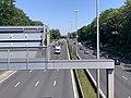 Autoroute A1 vue depuis Pont Avenue John Fitzgerald Kennedy Bourget 4.jpg