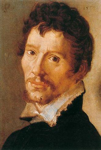 Juan Fernández Navarrete - Self portrait of Juan Fernández Navarrete (1563)
