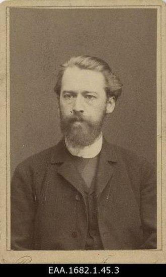 Carl Gustav Axel Harnack - Axel von Harnack