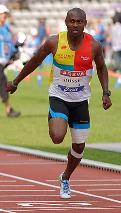 Béranger Aymard Bosse Men 100 m French Athletics Championships 2013 t164144 (cropped).jpg