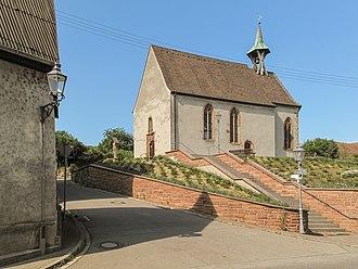 Bötzingen - Image: Bötzingen, die Sankt Alban Kapelle foto 5 2013 07 24 17.09