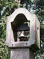 Běchovice, sad Běžců, zvonička, detail zvonu.jpg