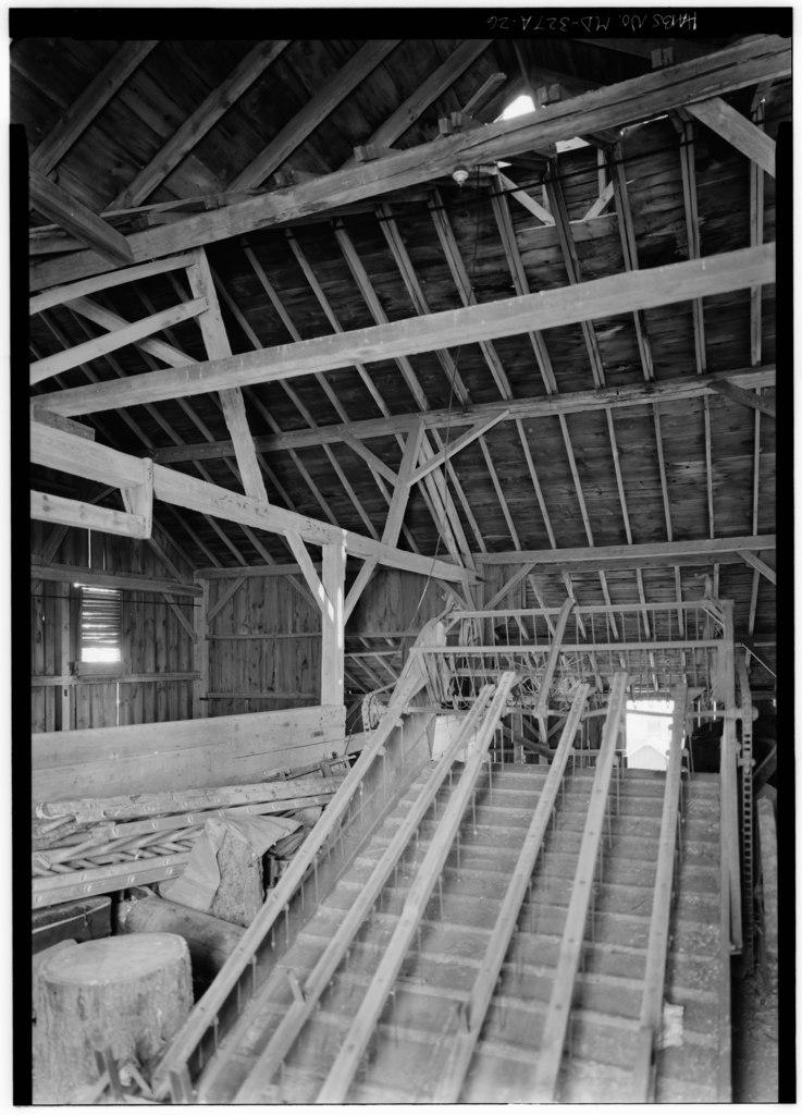 File Barn Interior Upper Floor Looking Southeast