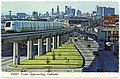 BART train and Oakland skyline postcard.jpg