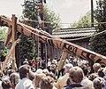 BC Museum Haida Pole Raising June 9, 1984001-LR (35063343530).jpg