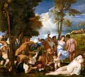 Bacchanal of the Andrians by Titian in the Prado Museum.jpg
