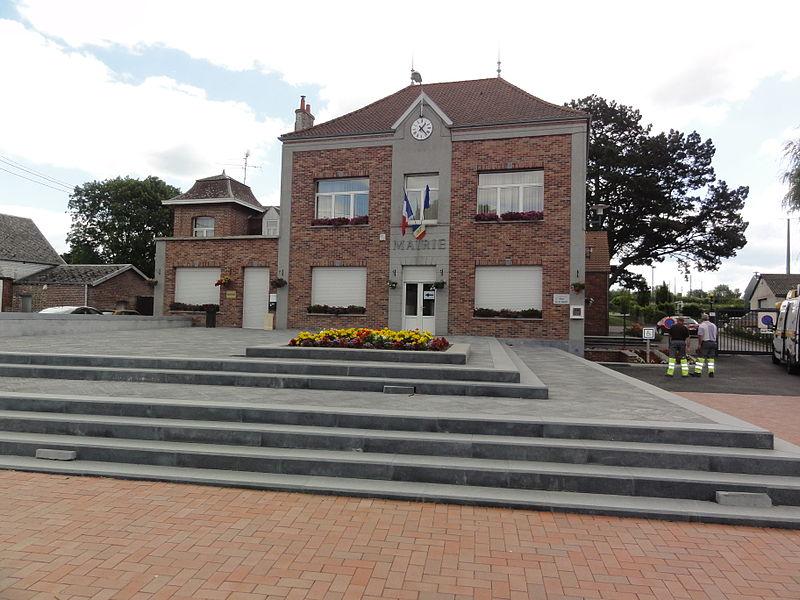 Bachant (Nord, Fr) mairie