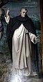 Bachiacca, ss. benedetto, sebastiano e domenico, angeli nella lunetta 06.JPG