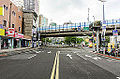 Bade Road and Jinshan Road Cross Point 20140806.jpg