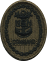 Badge of a United States Navy command master chief petty officer (NWU Type III).png