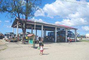 Balatan, Camarines Sur - Balatan bus terminal