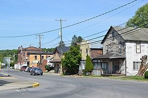 Sligo, Pennsylvania - Bald Eagle Street downtown