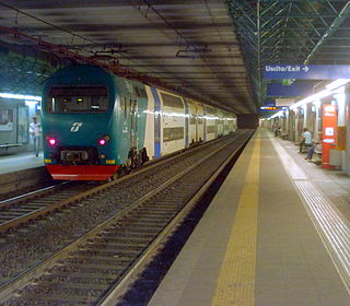 FL lines commuter railway system in Rome