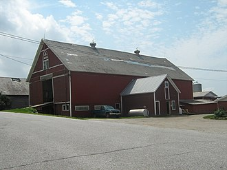 National Register of Historic Places listings in Franklin County, Vermont - Image: Ballard Farm Georgia VT 01