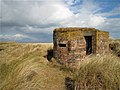 Balmedie, brick World War 2 pillbox - geograph.org.uk - 761612.jpg