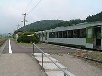 Banetsutousen Kawamae eki 2.jpg