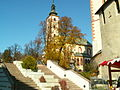 Banská Bystrica - kostol Nanebovzatia P. Márie (nemecký).jpg