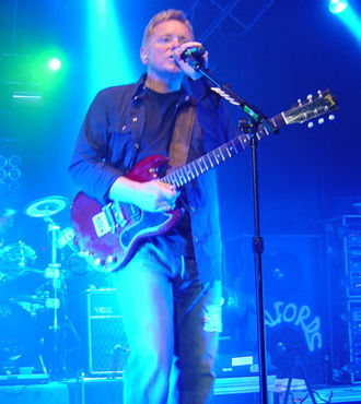 Bernard Sumner - Sumner performing with New Order in 2005