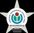 Barnstar Wikimedia Italia Award 2009.png